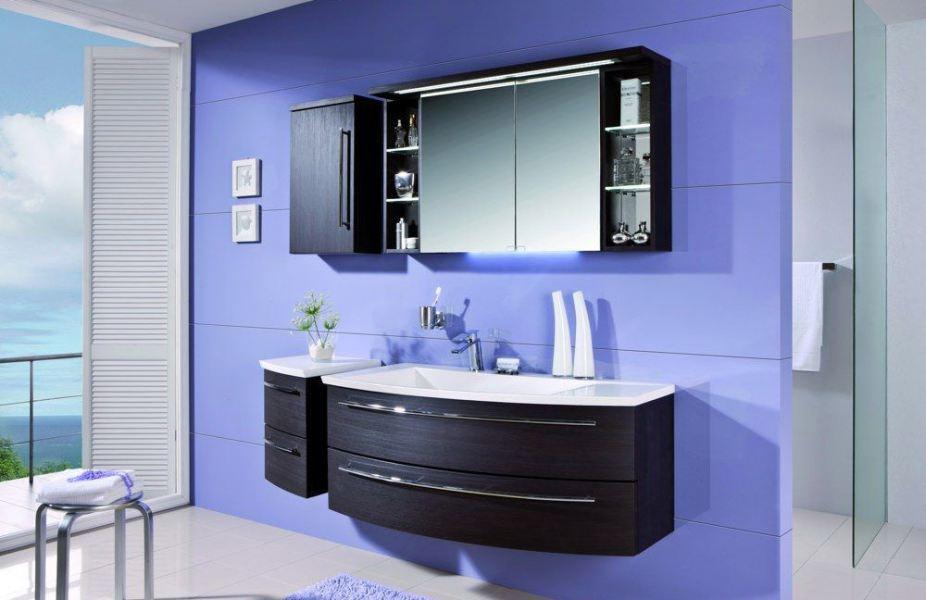 Crescendo von puris - Badezimmer in Schwarz/Weiß