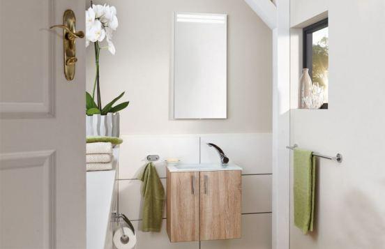 For Guests von puris - Badezimmer in Eiche hell
