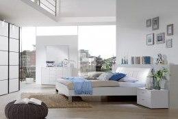 Wiemann Schlafzimmer Tokio in edlem Weiß