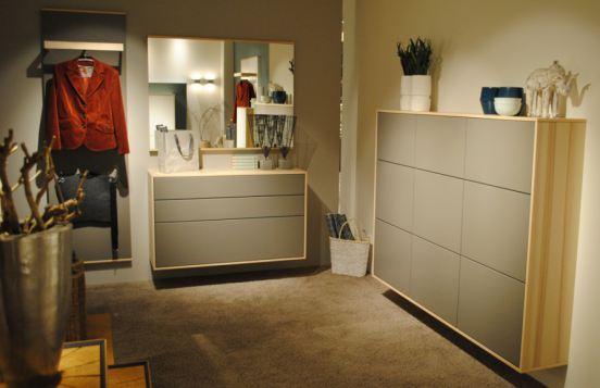 Garderobe & Schuhschrank von Rietberger in Grau