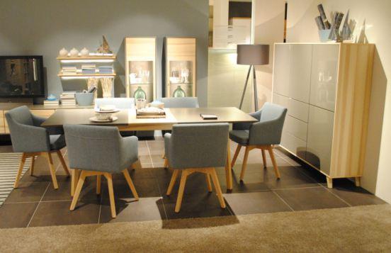 Stühle von Rietberger in zartem Blau