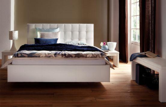 Gästebett Vilo von Hasena Dream-Line in Weiß