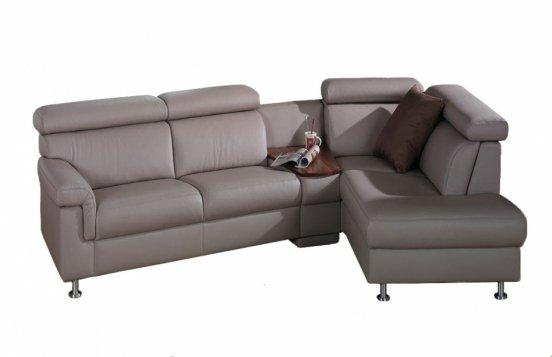graues Sofa 1203 von Himolla