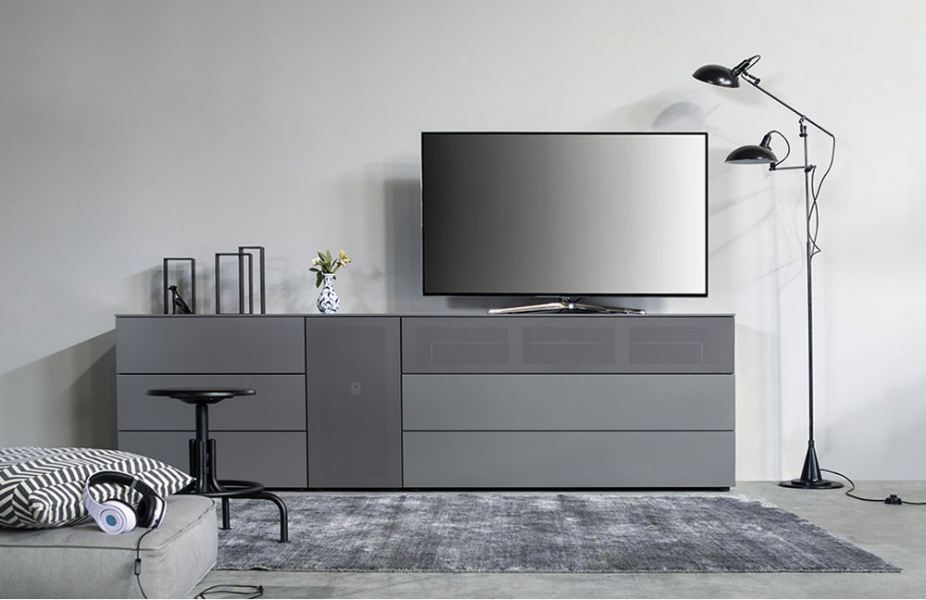 monochrom einrichten in grau online m bel magazin. Black Bedroom Furniture Sets. Home Design Ideas
