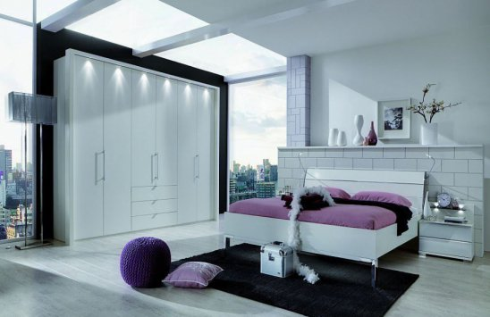 Wiemann Komplett-Schlafzimmer Loft in schlichtem Alpinweiß