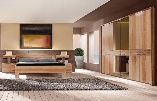 Thielemeyer Schlafzimmergarnitur Mali aus massiver Strukturesche