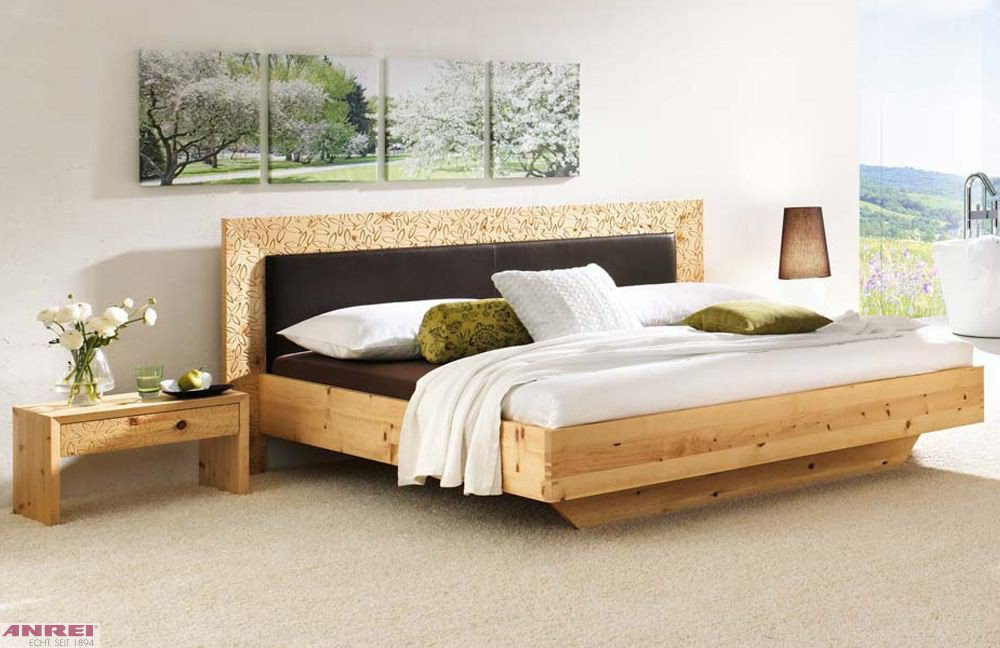 kraft tanken in einem zirbenbett online m bel magazin. Black Bedroom Furniture Sets. Home Design Ideas