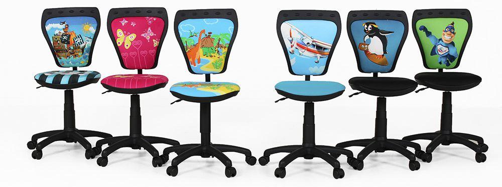 Drehstuhl Ministyle Cartoon von Nowy Styl - verschiedene, kindgerechte Motive
