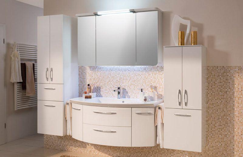 Spiegelschrankbeleuchtung im Badezimmer Cassca von Pelipal