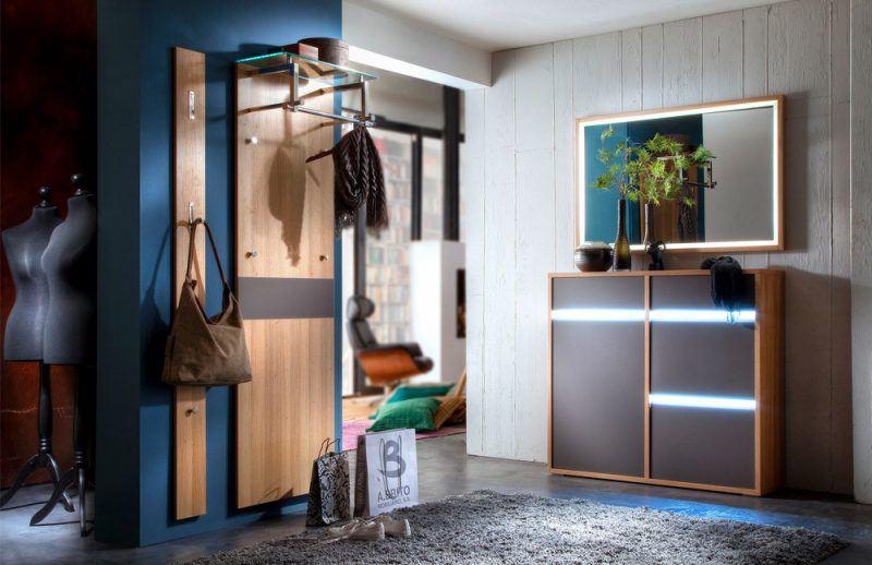 beleuchtete Garderobe Merano von Wittenbreder