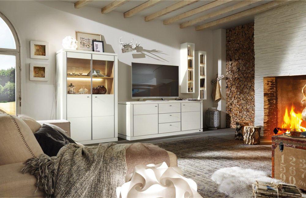 landhausstil-wohnwand-wohnzimmer-ambito-woestmann-massivholz ...