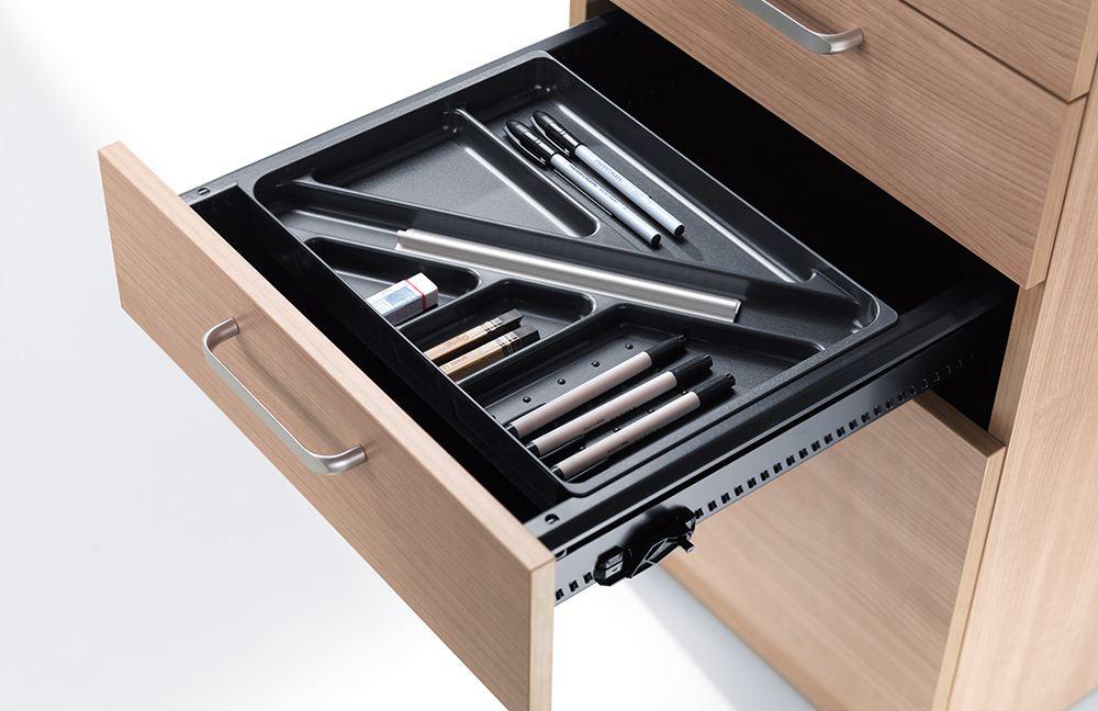 Schubladen-Element bei den Büromöbeln der E10-Serie