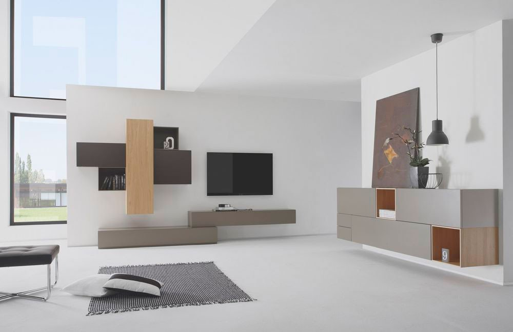 die modulare wohnwand ist trend online m bel magazin. Black Bedroom Furniture Sets. Home Design Ideas
