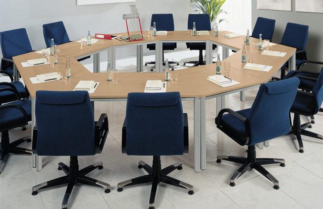 Techno von Röhr-Bush - Konferenztisch für 14 Personen