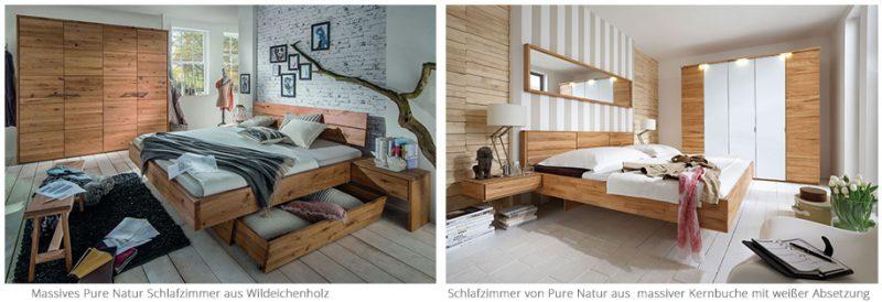 Pure Natur Schlafzimmer