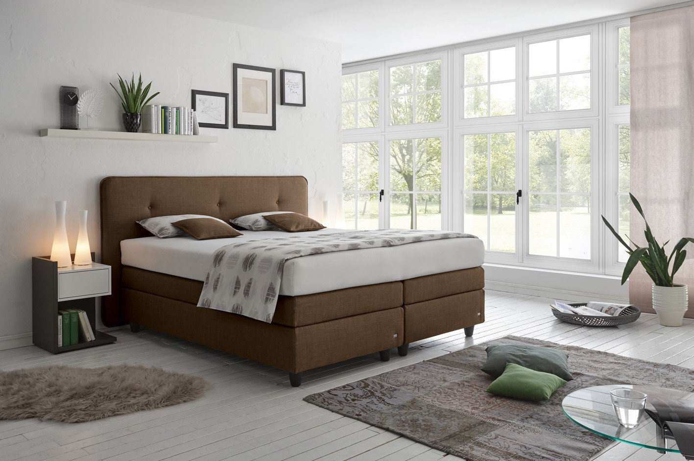 ein boxspringbett ganz nach deinem geschmack online m bel magazin. Black Bedroom Furniture Sets. Home Design Ideas