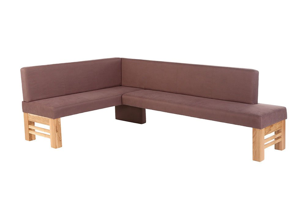 Flair von Standard Furniture - Eckbank Eiche natur / schoko
