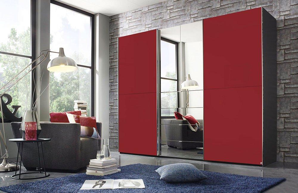 Kleiderschrank Rot