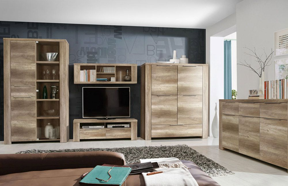 wohnwand schlicht perfect wohnwand u vigo full ivu hngeschrank lowboard glasvitrine matt. Black Bedroom Furniture Sets. Home Design Ideas