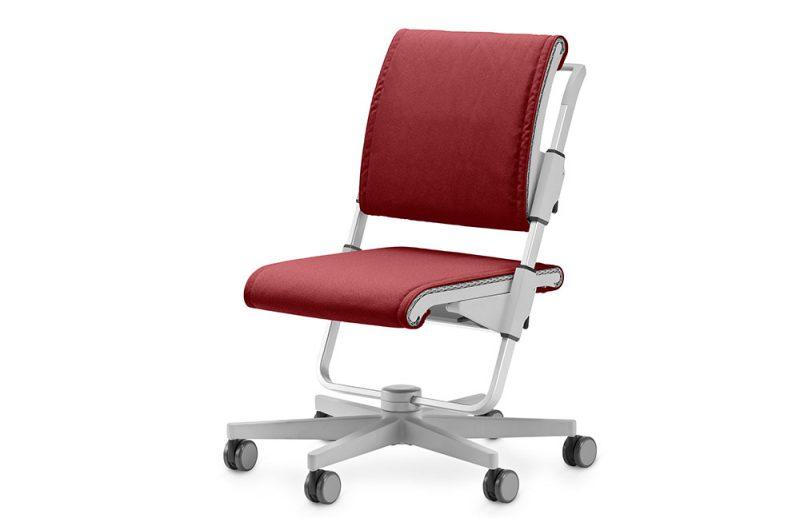 Schreibtischstuhl-Scooter-Rot