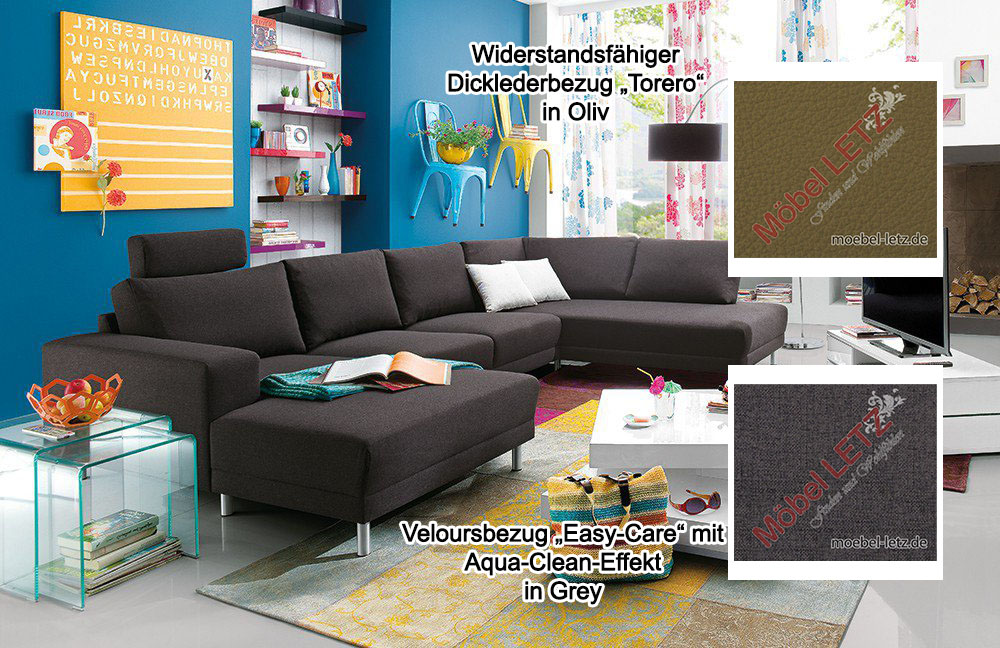 Candy Sofa Modesto Aqua-Clean Leder