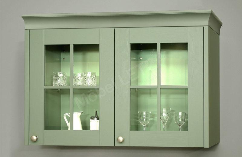 Schüller Küche Hängeschrank mit Glastüren