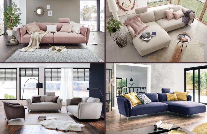 Möbel mit vielen Planungsfreiheiten, wie das Modell Cartagena von Candy Polstermöbel