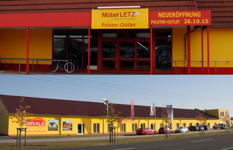 Möbel Letz in Elster mit Polster-Outlet und Möbelhaus
