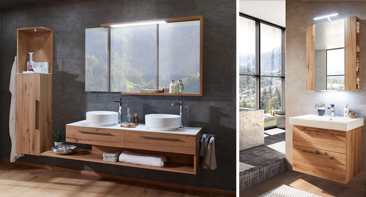 Badezimmer Kitzalm Alpenflair von Schröder