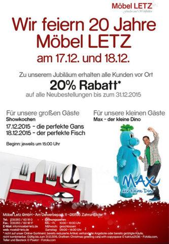 Möbel Letz | Firmenjubiläum